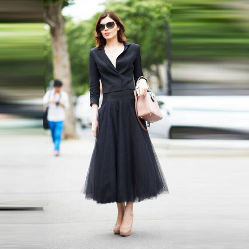 Compare Prices on Black Ankle Length Skirt- Online Shopping/Buy ...