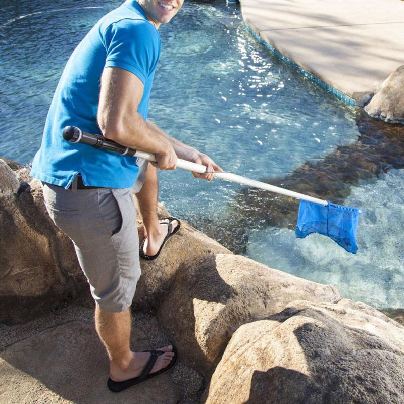 Longzhuo Swimmingpool Leaf Mesh Net Set Pools Leaf Skimmer Reinigungswerkzeuge f/ür Teichbrunnen Whirlpool Reinigungsset Zubeh/ör f/ür Swimmingpool