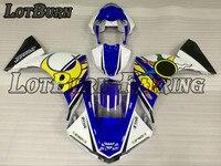 На заказ мотоцикл обтекатель комплект подходит для Yamaha YZF1000 YZF 1000 R1 2011 2009 09 11 обтекатели ABS обтекатель комплект впрыска