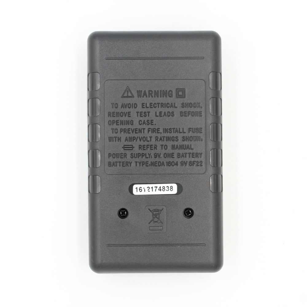 WHDZ DT-700D Mini Groot Scherm Digitale Multimeter Buzzer Overbelasting bescherming Vierkante Wave Output voltmeter Ampere Ohm Tester