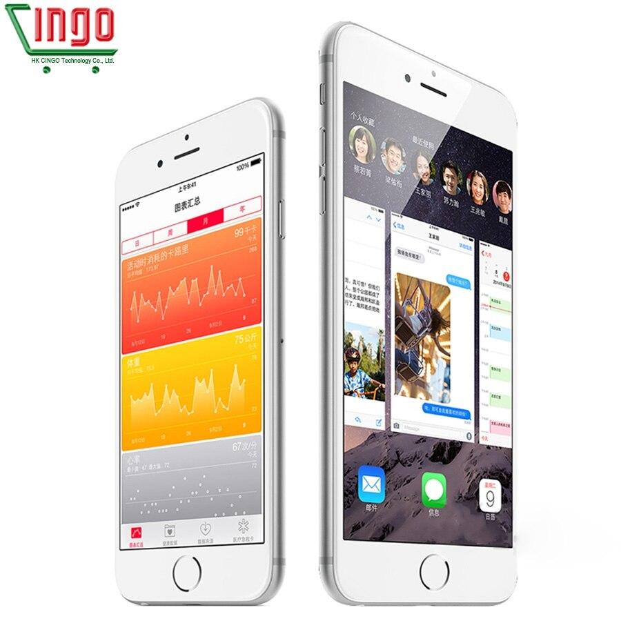 Sbloccato Apple iPhone 6 Plus/iPhone 6 RAM 1 GB ROM 16/64/128 GB IOS Dual Core 8MP/Pixel Usato 4G LTE Mobile telefono