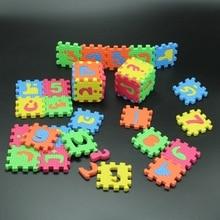 36Pcs 5 5CM 5 5CM Environmentally arabic alphabet ARAB Language EVA Foam puzzle animal Play Puzzle