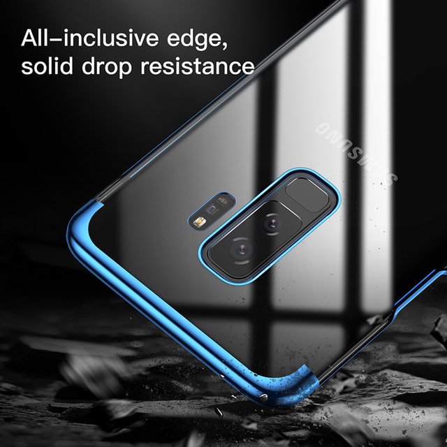 Baseus Samsung Galaxy S9 S9 Plus Luxury Electroplating Hard PC Back Case Cover