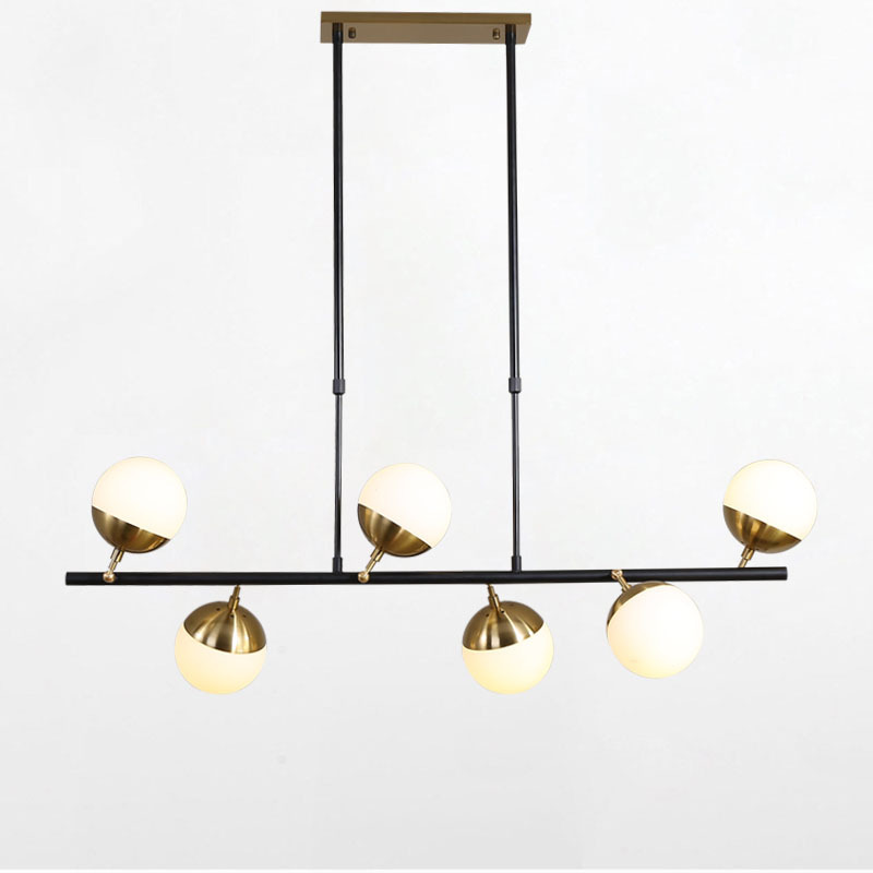 Nordic Glass LED Creative Creative Pendant Light European style Luxury LED Lamps Moderm Glass Indoor Lighting Restaurant in Chandeliers from Lights Lighting