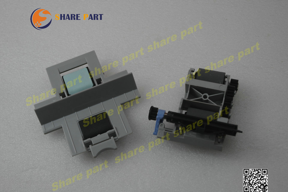 1 X Compatible New Q7842-67902 Q7842A ADF paper pickup roller assembly and the separation pad assembly  for HP M5035 M5025  original new laser printer spare parts adf pickup feed roller assembly for hp 2820 2840 adf maintenance kits pickup roller