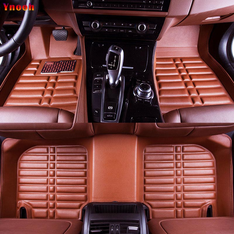 Ynooh car floor mats For kia rio 3 4 5 2018 k2 k3 k5 k7 sportage 3 2018 optima 2017 sorento soul 2018 stinger car accessories kalaisike leather universal car seat covers for kia all models ceed rio sportage sorento optima cerato k2 k3 k4 k5 car styling
