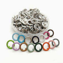 11mm Craft-DIY-Buttons Studs Fastener-Snap Buttons-Press Prong-Ring Sewing Craft Metal