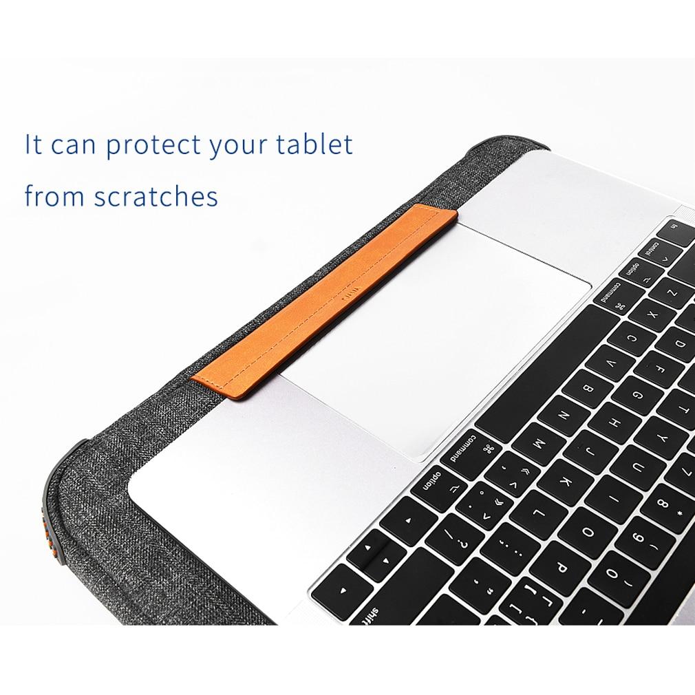 HTB1bEQIeRCw3KVjSZR0q6zcUpXa6 Unisex Solid Waterproof Laptop Computer Bag Breifcase Sleeve Case Bag Dell HP 11/13/15/In