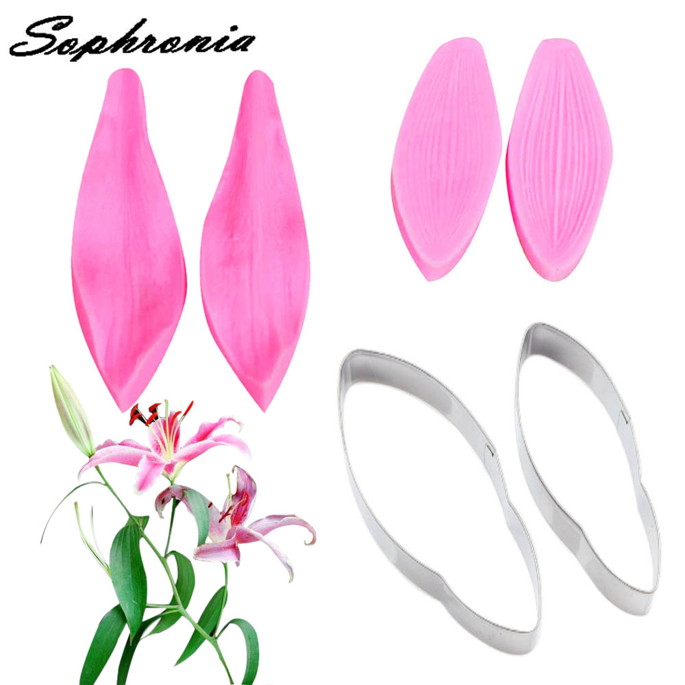 Clay Extruders Arts,crafts & Sewing Sophronia M202 Petal Leaf Silicone Mold Fondant Cake Decorating Tools Kitchen Baking Sugar Paste Chocolate Candy Clay Molds