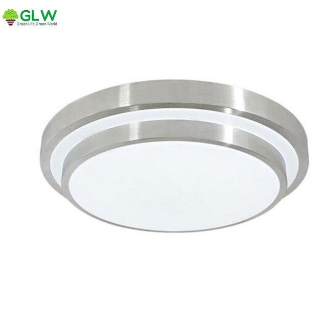 Ultra מואר 12 W LED תקרת משטח האור בתיקרה מנורת תקרת אלומיניום Plafonnier Lamparas De Techo למטבח