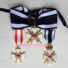 XDT0020 3 шт. разные стили Императорский и Королевский Орден Красного ордена рыцарства Пруссии де Roter Adlerorden