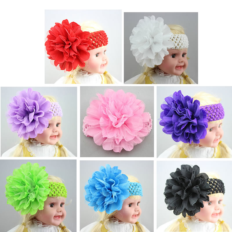 New Kids Baby Girls Bebe Children Supreme Toddler Baby Girls Kids Headband Hair Accessories Band Headdress Photo Props Headwear