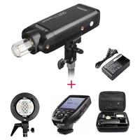 Godox AD200 200Ws 2,4G ttl со стробоскопической вспышкой 1/8000 HSS импульсного иои непрерывного света для Nikon w/Godox XPRO N Беспроводной триггер для вспышки w/