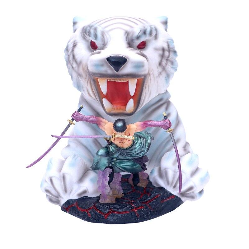 Dessin animé une pièce Roronoa Zoro Gokutora chasse 10th limité Ver. Figurine en PVC GK figurine à collectionner modèle poupée 23 cm-in Jeux d'action et figurines from Jeux et loisirs    1