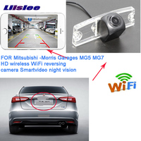 LiisLee wireless rear camera For Morris Garages MG5 MG 5 Roewe 350 750 Car HD rear view parking camera
