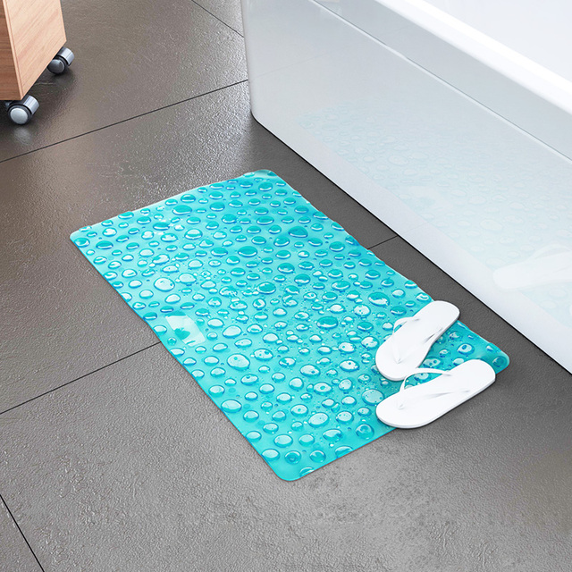 Blue Bathroom Carpet Bath Mat Mats in the Bathrooms Toilet Mat ...