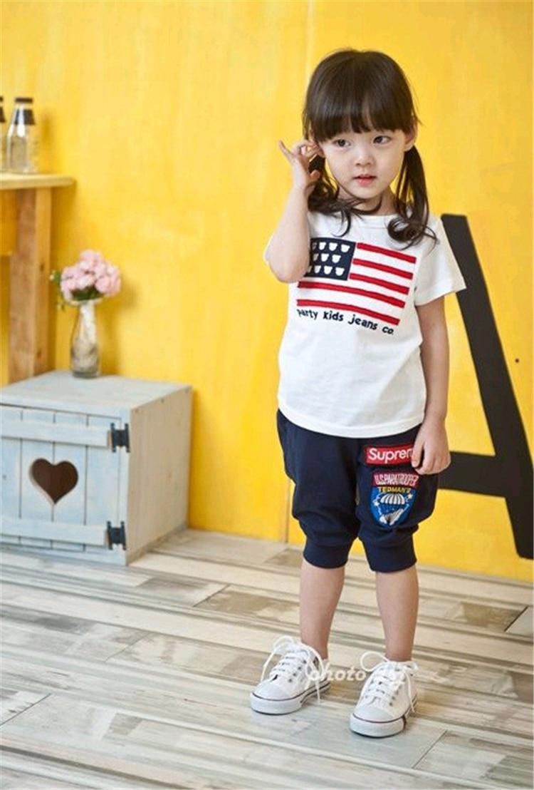 2015. gada jaunais 3-8 gadus vecais bērnu apģērbs Tērpu tērpa - Bērnu apģērbi - Foto 3
