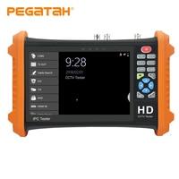 7inch CCTV camera tester 8MP video Tester TVI CVI 5MP AHD 2MP SDI ahd monitor Camera HDMI Call OSD menu UTP monitor for cctv