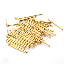 цена на Voltage Test Probe Total Length 33.35 Spring Test Probe Tip Spring Gold Plated for Testing Circuit Board Instrument ToolPA125-H2