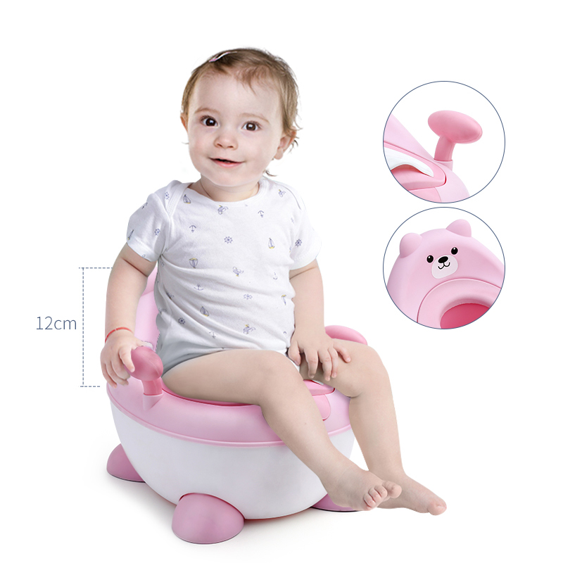 Kids Training Seat Portable Girl Pee Potty Chair Child Urinal Baby Potty Training For Free Potty Brush+cleaning Bag