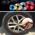 Car-Styling Car Chrome Protection Wheel Rim Light Frame Decoration Collision Strips For Nissan Almera X-Trail Armada Cube Dualis