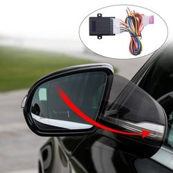 Uniwersalny lusterko boczne samochodu system składania Auto lusterko boczne zestaw składanych Universal Car Styling akcesoria samochodowe
