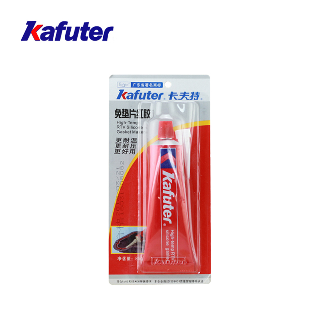 Kafuter Red Glue 85G Adhesive Sealant Waterproof For Automobile Car Engine Electronic Chemical Equipment Repairing Glue horowitz troubleshootong &amp repairing electronic test equipment 2ed paper only page 4