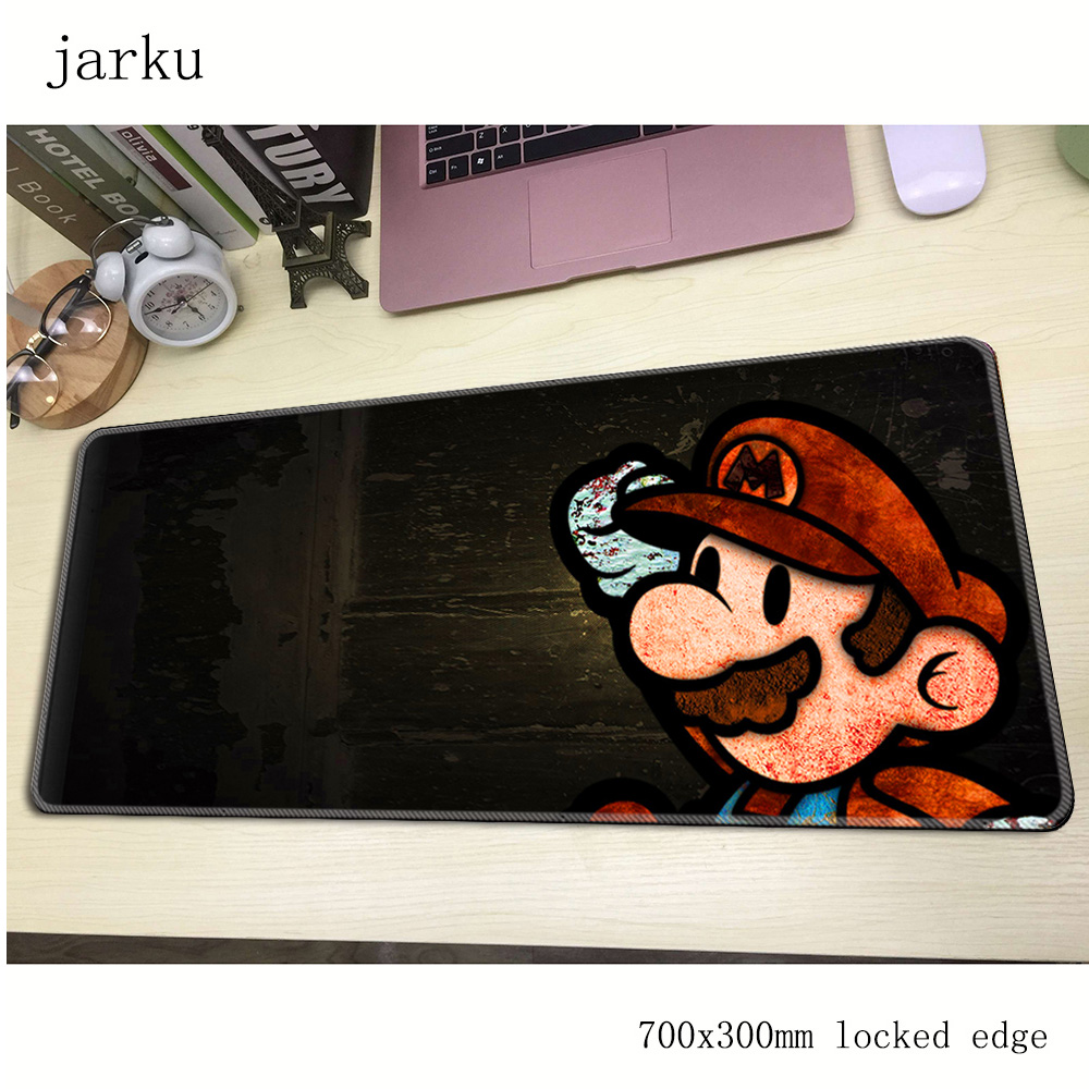 Mario Mouse Pad Gaming Mousepad Notbook Computer Mouse Pad 700x300mm Large Mat To Mouse Gamer Free Shipping Christmas Gifts