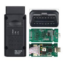 Ferramenta de diagnóstico para opel op com OP-COM pic18f458 firmware opcom v1.99 qjy99