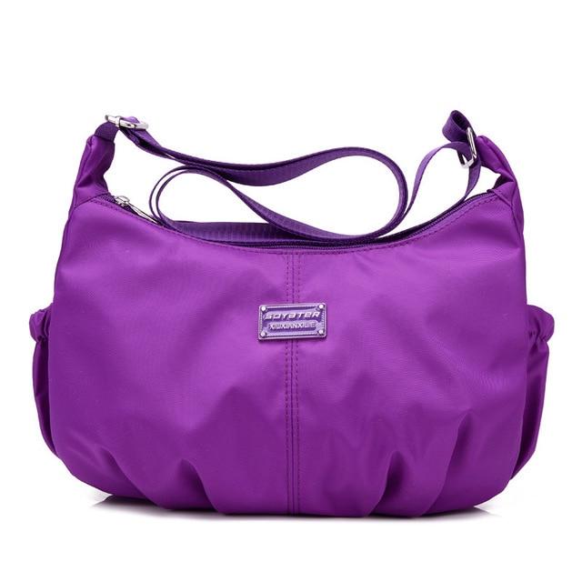 New Style 2016 Korean Fashion Women Casual Travel Messenger Bag Waterproof Nylon Shoulder Crossbody Bags Designer Handbag WQ010