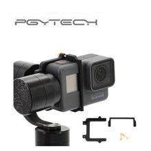 PGYTECH для GoPro Hero 5 адаптер зажим для скобы держатель для Zhiyun Z1 Эволюция Gimbal Спорт действий Камера аксессуары