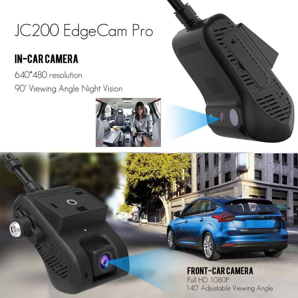 Jimi JC200 EdgeCam Pro 3G Car DVR Dash Camra Car Camera With HD 1080P Dual  Camera GPS Tracker Remote Monitoring Live Streaming
