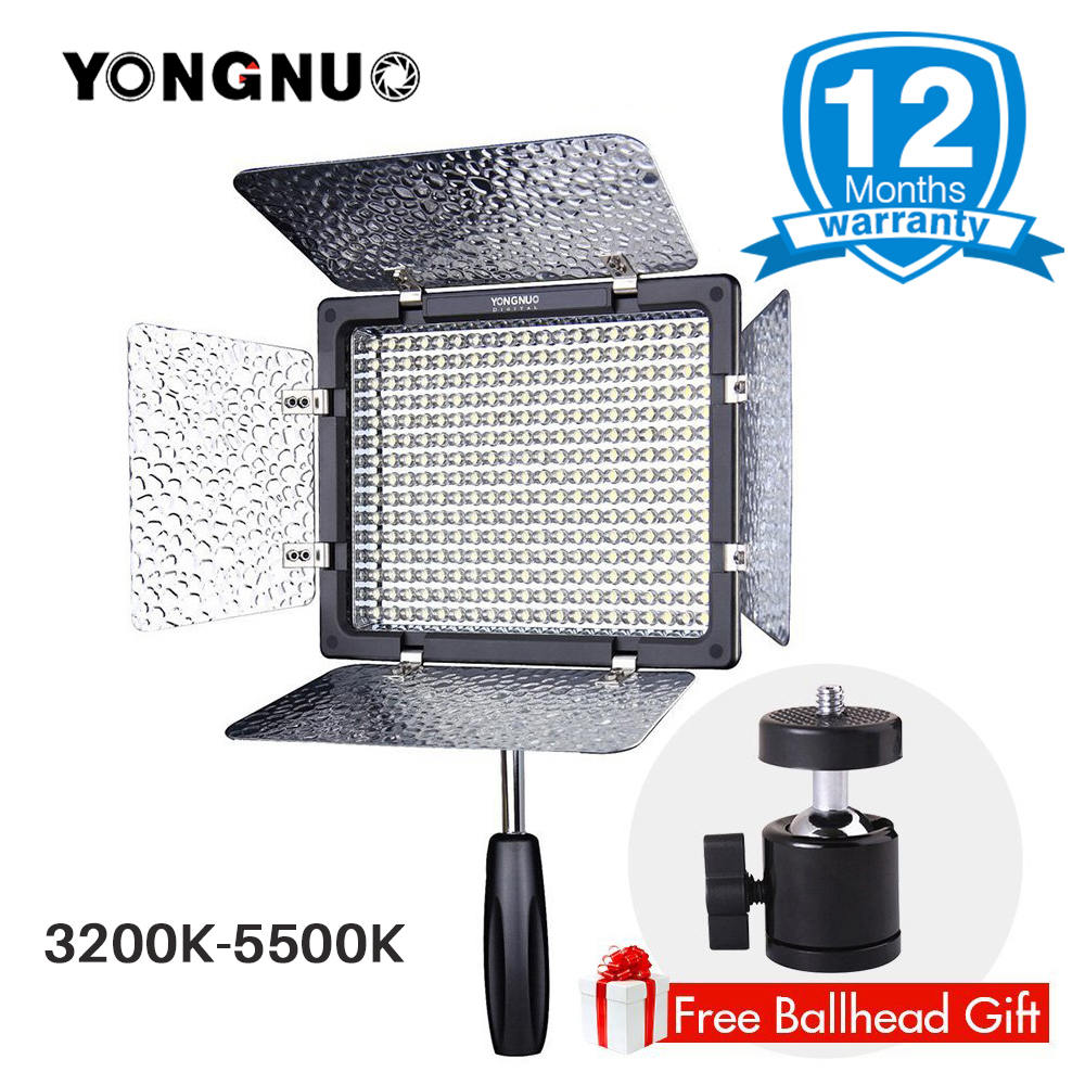 YONGNUO Official YN300 III YN-300 III Camera Photo LED Video Light CRI95 Bi-color 3200K-5500K led panel for Canon Nikon Pentax цена 2017