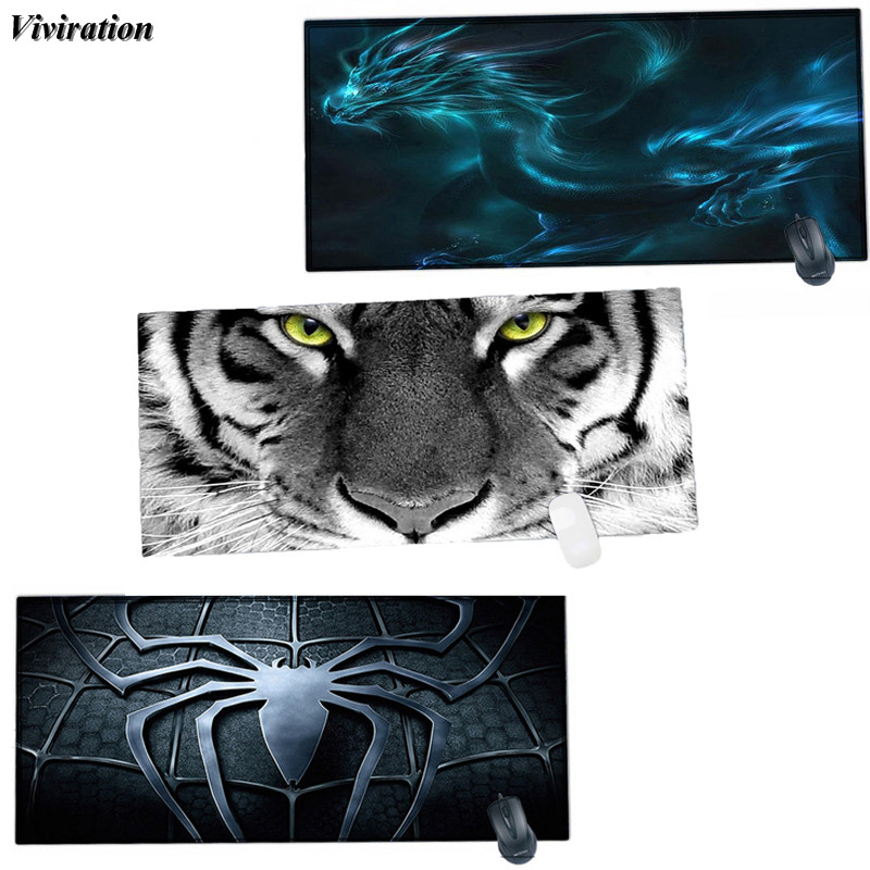 900x400mm XL Laptop Gaming Mouse Mat Viviration Locking Edge Mouse Pad Rubber Computer PC Gaming Mouse Pad Non-slip Keyboard Mat
