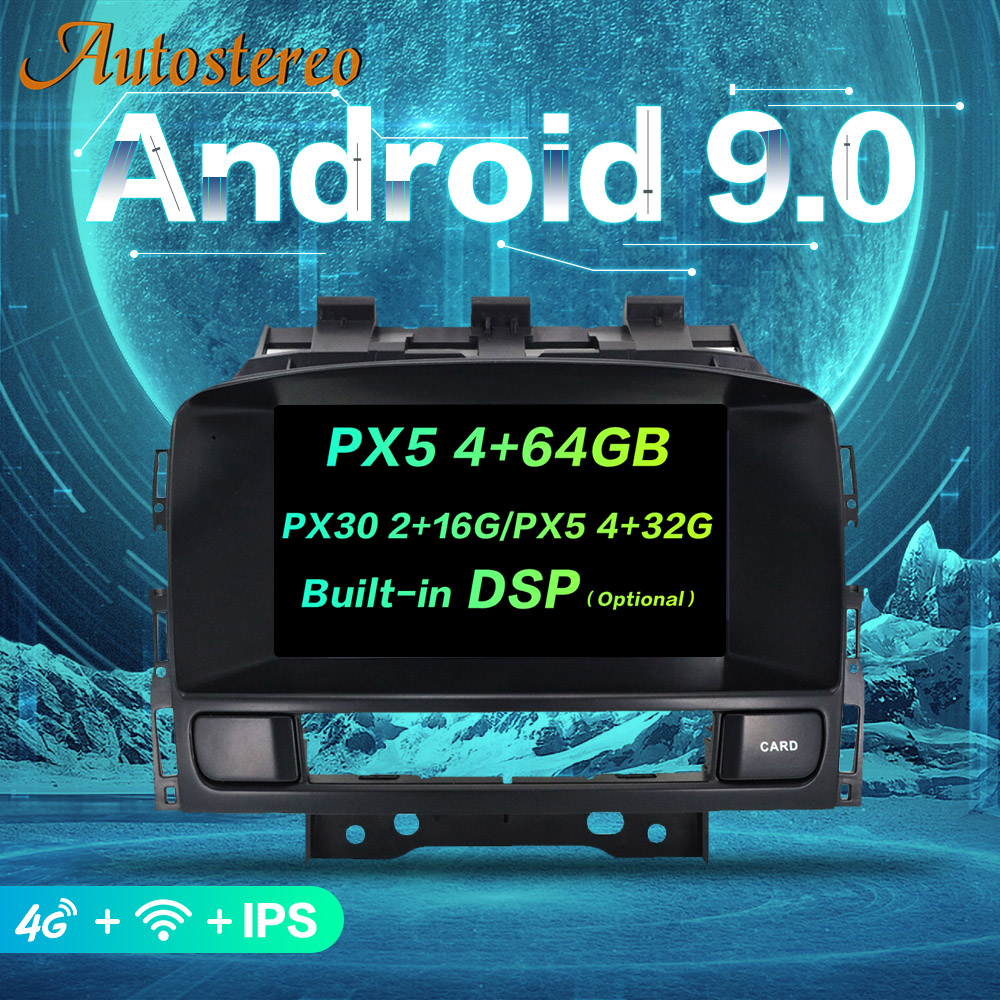 DSP Android 9 Car DVD player GPS navigation radio Stereo for OPEL Vauxhall Holden Astra J