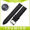 Capa superior de cuero genuino correa de reloj 13mm 18mm 20mm para citizen mujeres de los hombres de venda de reloj de pulsera correa de reemplazo pulsera negro marrón