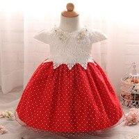First Year Birthday Newborn Baby Girls Dress Christening Girl Clothes Kids Dresses Frocks Designs Infant Princess
