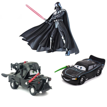 Disney pixar carros 3 2 diecast veículos de brinquedo star wars darth vader mater relâmpago mcqueen jackson modelo carro brinquedo para crianças