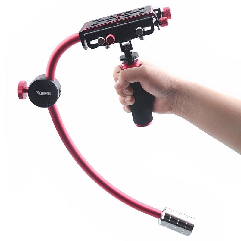 Video Stabilizer Support arm steady Handle Grip For DV DSLR Camera Camcorder W01 camvate dslr handle camera grip wooden handgrip right hand for arri alexa extender arm shoulder support system c1321