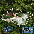 Мини Беспилотный Мини RC Quadcopter 2.4 ГГц 4CH 6-осевой Гироскоп 3D НЛО Drone Drone С Камерой HD 2.0MP Безголовый toys