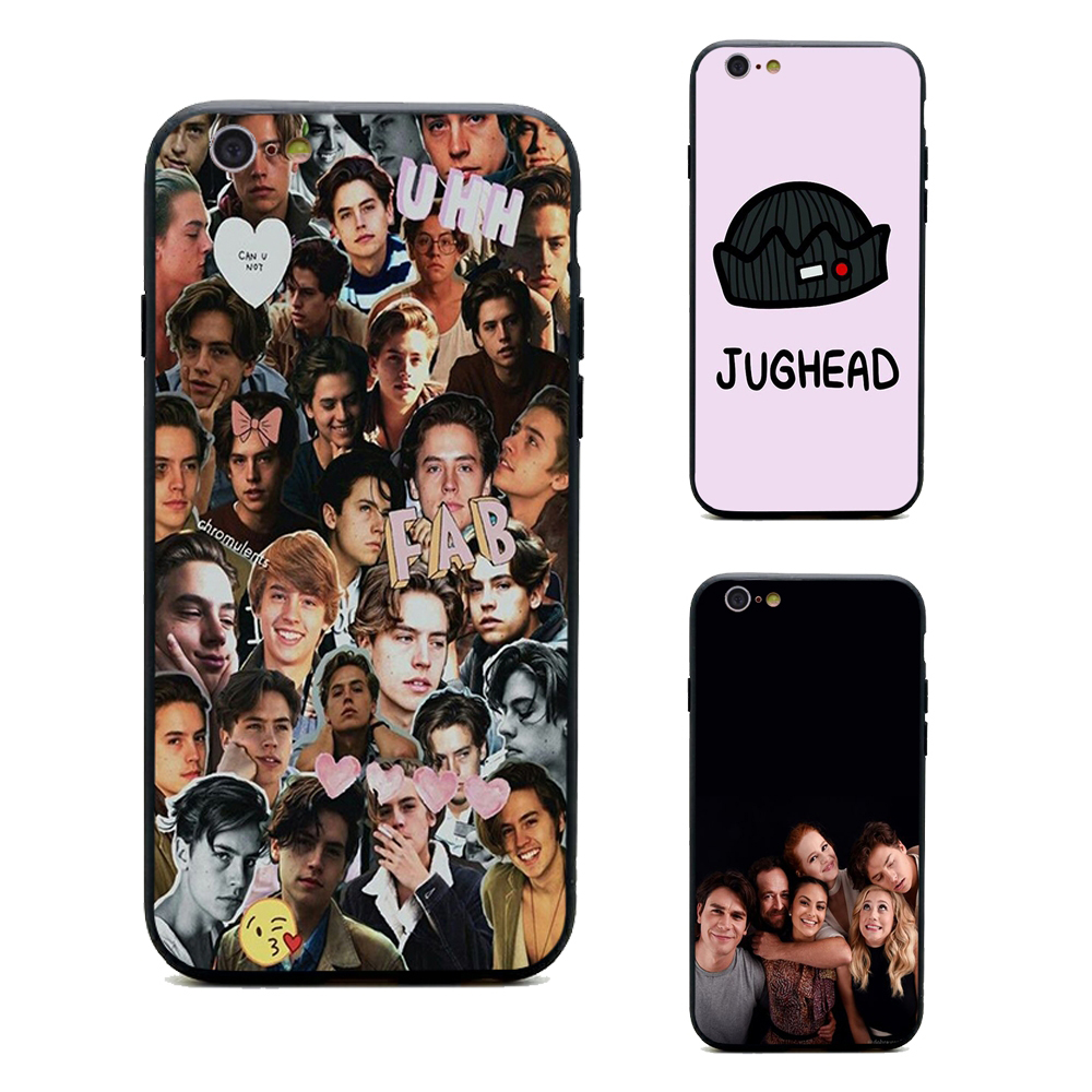dylan cole sprouse jughead jones phone cases Riverdale TPU