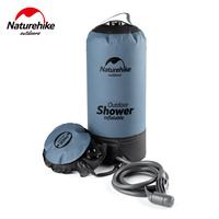 Naturehike New Arrival Outdoor Camping Shower 11L PVC Folding Inflatable Portable Water Storage Shower Bag Can