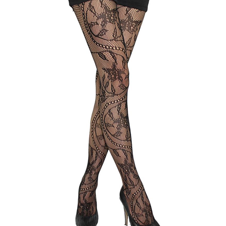 Sexy Women Mesh Stockings Womens Boot Cuff Thigh High Tights Female Golfs Spring Autumn Long Fishnet Stockings Medias #Zer