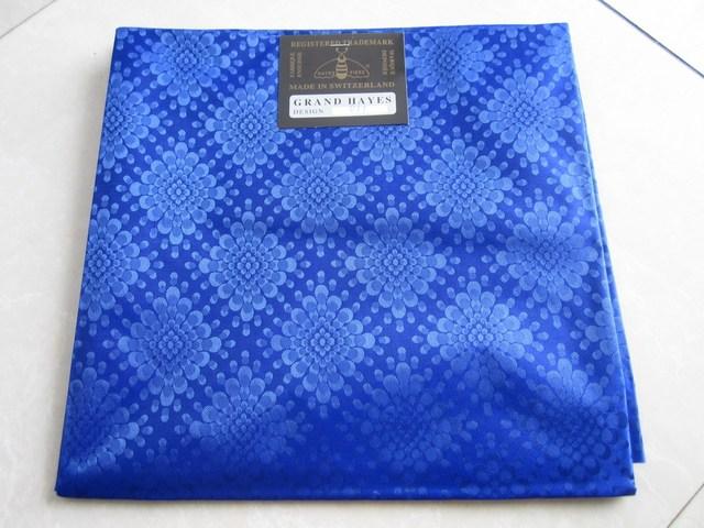 Royal blue Regular headtie High quality 2yards/pc,1pc/bag