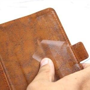 Image 4 - For BQ 5204 Case Vintage Flower PU Leather Wallet Flip Cover Coque Case for BQ 5204 Strike Selfie Phone Case Fundas