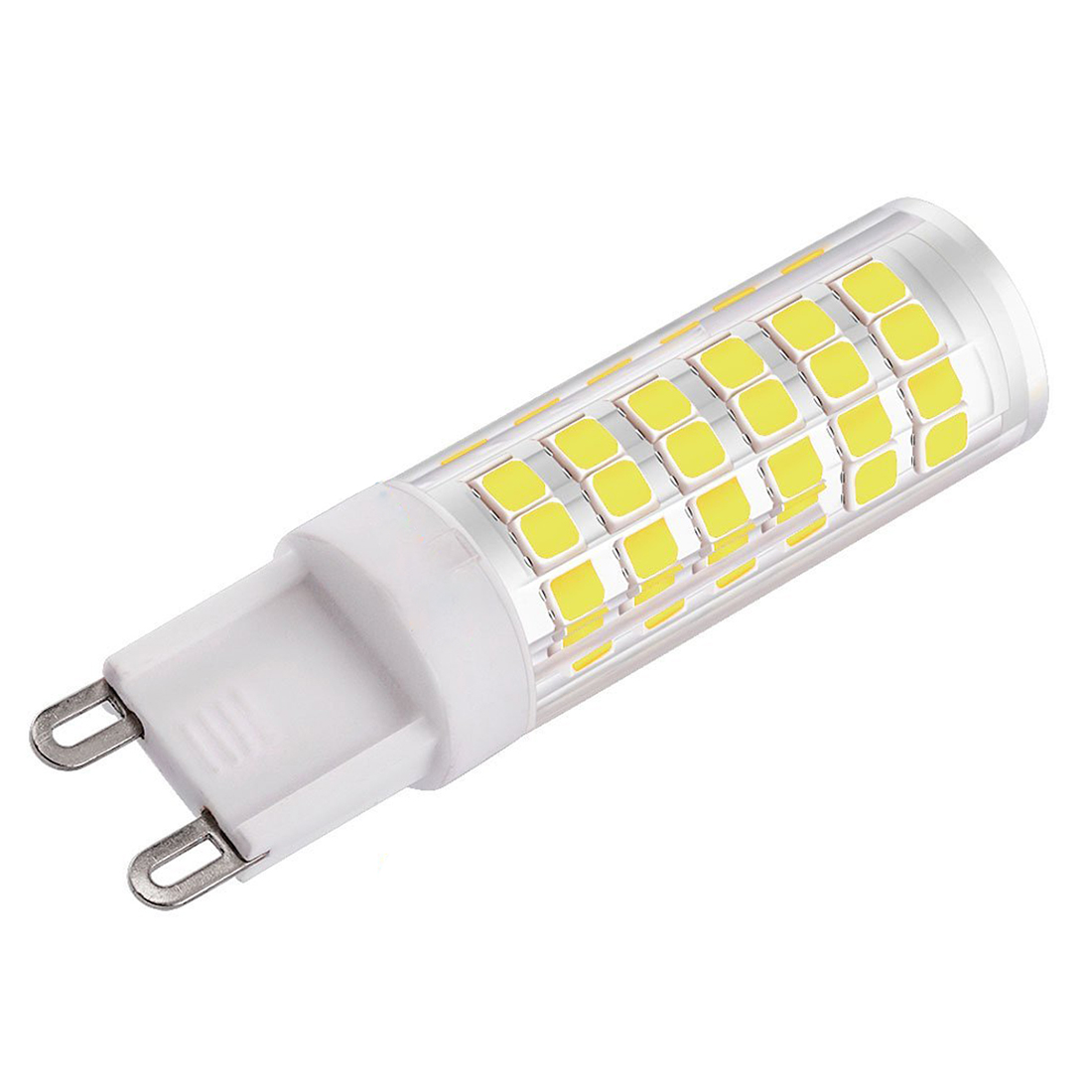 Us 7 01 13 Off 5 Pcs G9 Led Bulb 7w 550lm 60 Watt Halogen Bulbs Equivalent 6000k 360 Degree Beam Angle Energy Class A Daylight White In Led