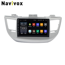 Navivox Android 7.1 Car DVD GPS Radio for Hyundai Tucson IX35 2016 2017 Car Multimedia Player Navigation Head Units GPS Recorder