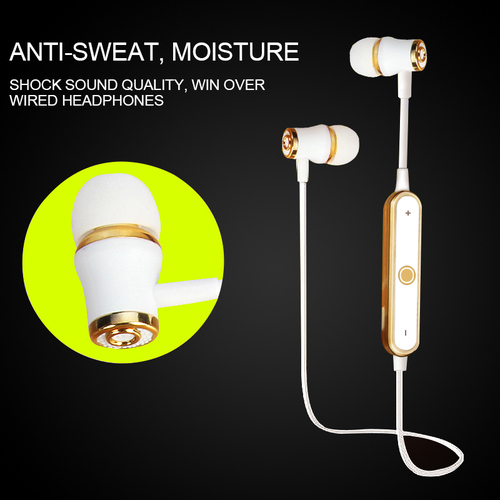 Ubit S6 Sports Sans fil Bluetooth Écouteur Casque Basse Stéréo - Audio et vidéo portable - Photo 4