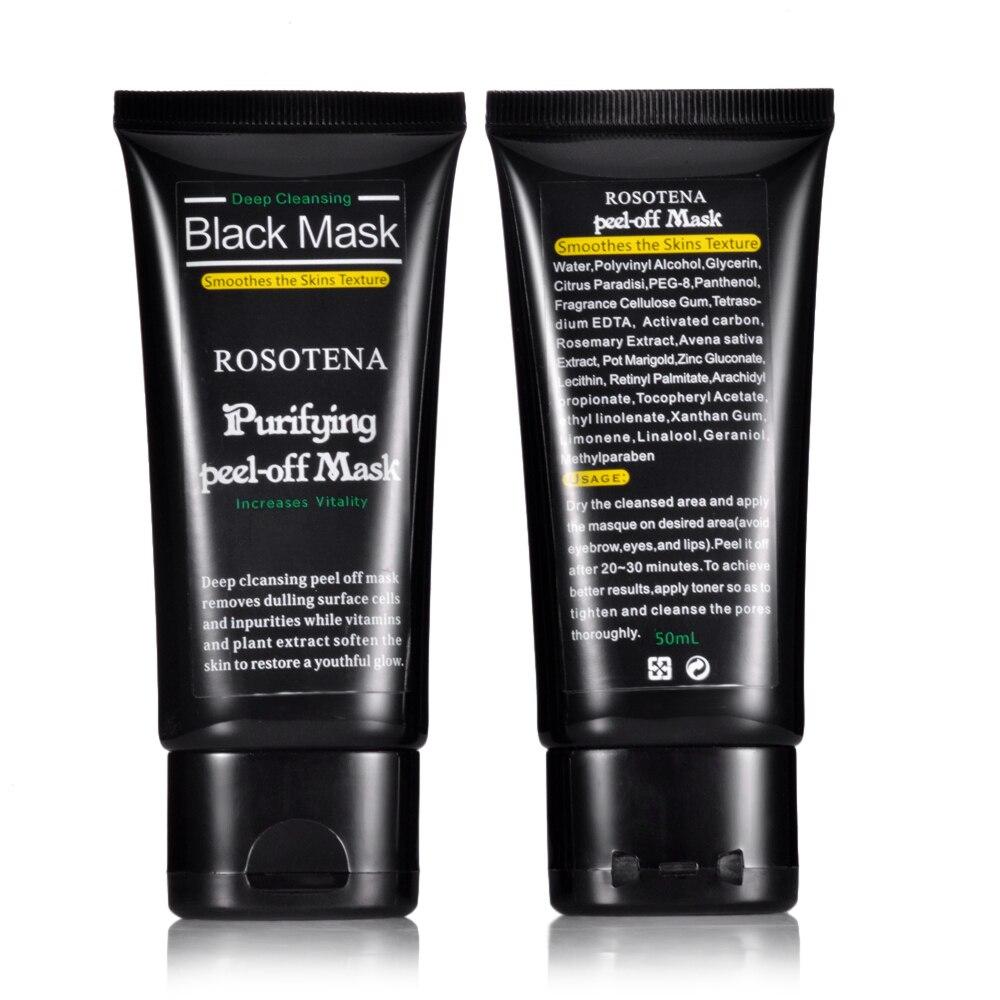 Nová péče o obličej Deep Peel Off Černá maska Černá maska Deep Cleansing Blackhead a Pimple Remover Maska na obličej Blackheads Nose