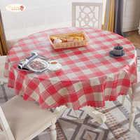 tarifiklan.com & Proud Rose Round Tablecloth Waterproof Anti-scalding PVC Table Cover European Household Round Plastic Table Cloth